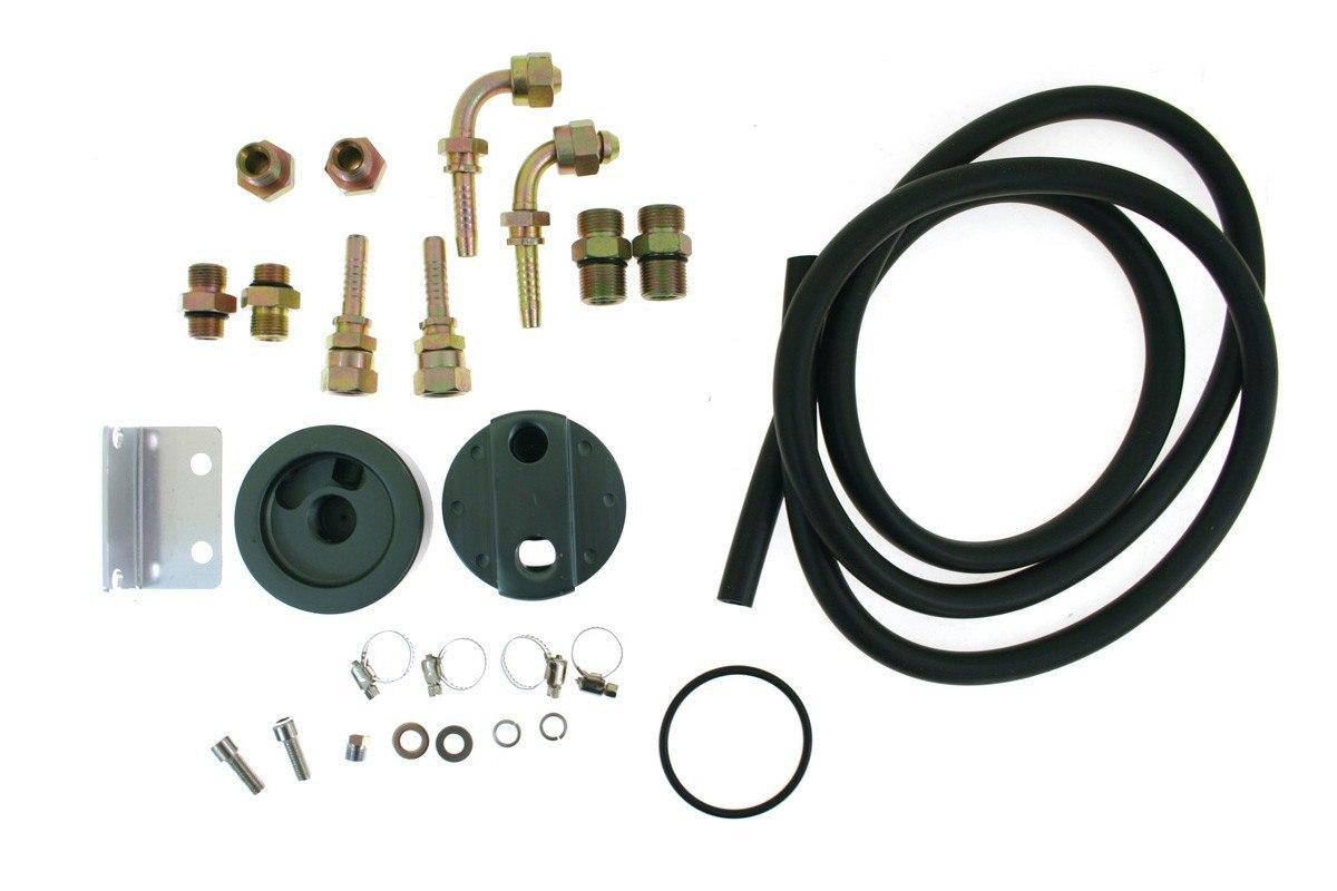 Oil Cooler Relocation Kit BIG - GRUBYGARAGE - Sklep Tuningowy
